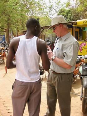 Sharing the gospel in Burkina Faso