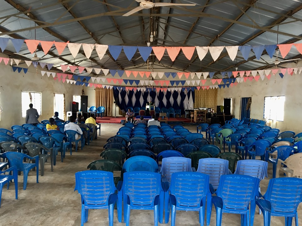 This is what a 10:00a meeting looks like at 10:45a. By the end there were 42 Pastors & Leaders. This one was very understandable, since many came from far by foot, motorcycle, and bicycle.