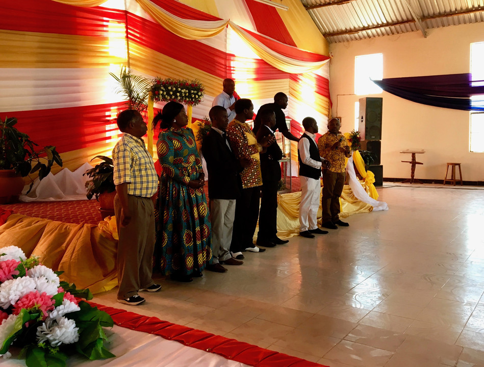 The local SI Leadership Team for the Area around Iringa