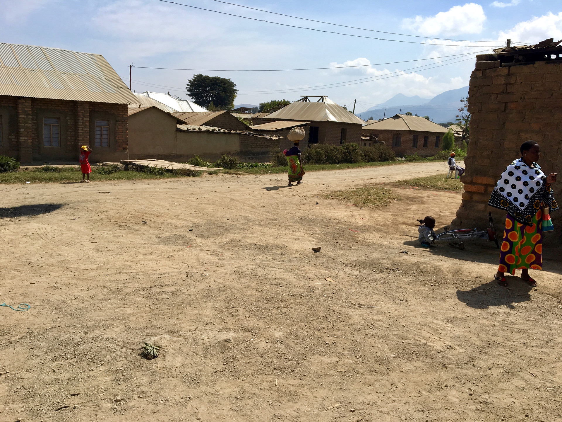 Street shot as we wait for our transport to the airport to fly from Mbeya to Dar es Salaam