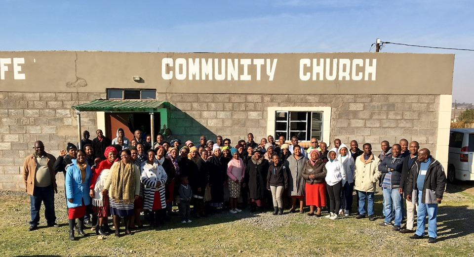 Here are the Pastors & Leaders who were trained in this Leadership Thrust. (I'm behind the camera) — in Maseru, Lesotho.