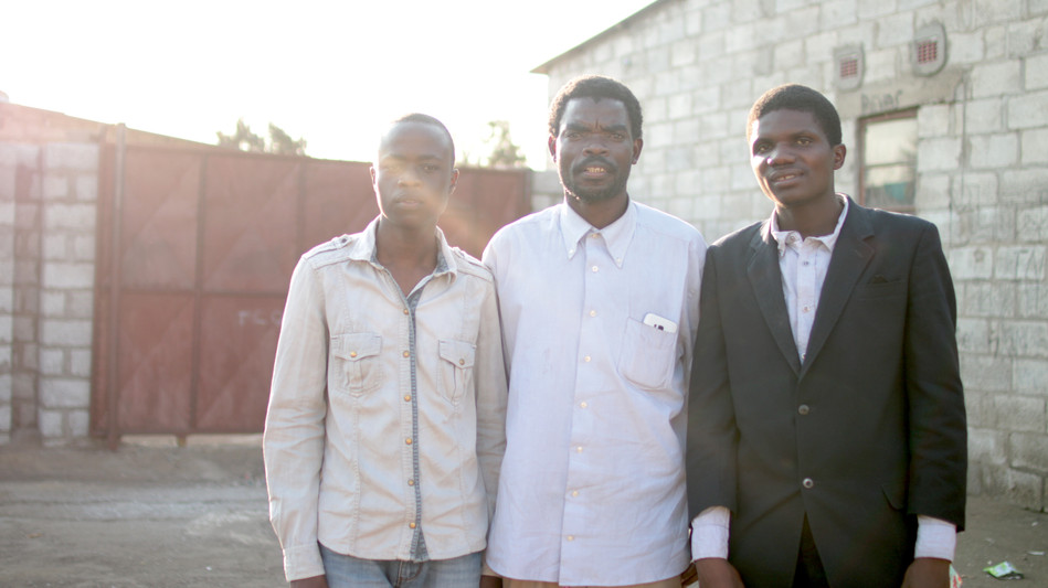 Three Pastors who are being equipped through SI