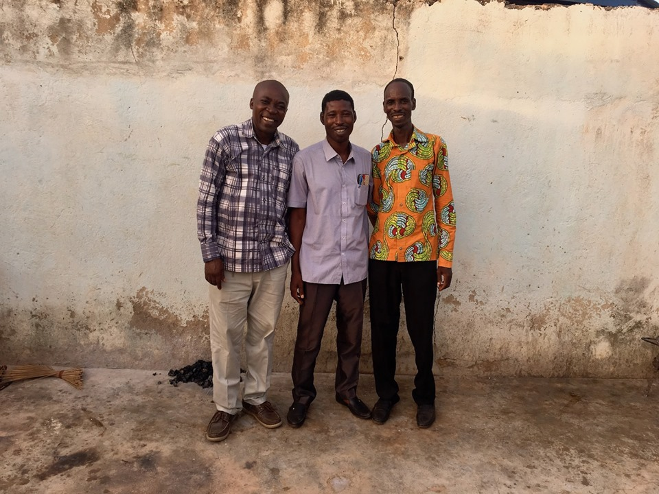 West Africa senior leadership for Strategic Impact. Stephen, Victor, & Edward. We are off to a grand start! — with Stephen Aputara, Victor Ouedraogo and Alemya Edward in Navrongo.