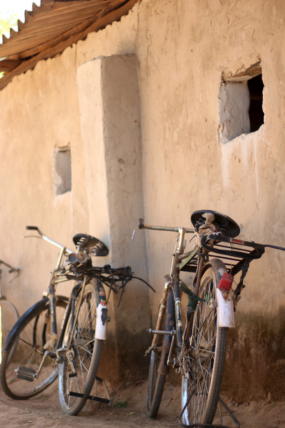 Bicycles... the primary mode of distance travel for most rural pastors