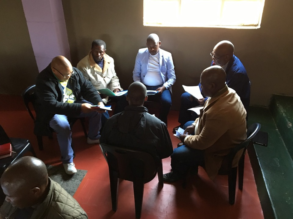 The SMCP is small-group based and includes a time of loving accountability along with the training. — in Maseru, Lesotho.