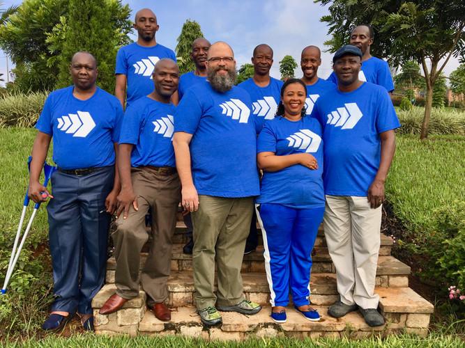 Sub-Sahara Leadership Team in 2018