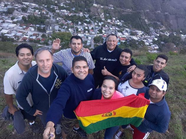 with the Venezuela team.