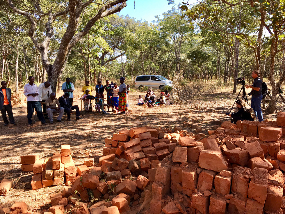 Church Plant out in the bush, North of Mkushi