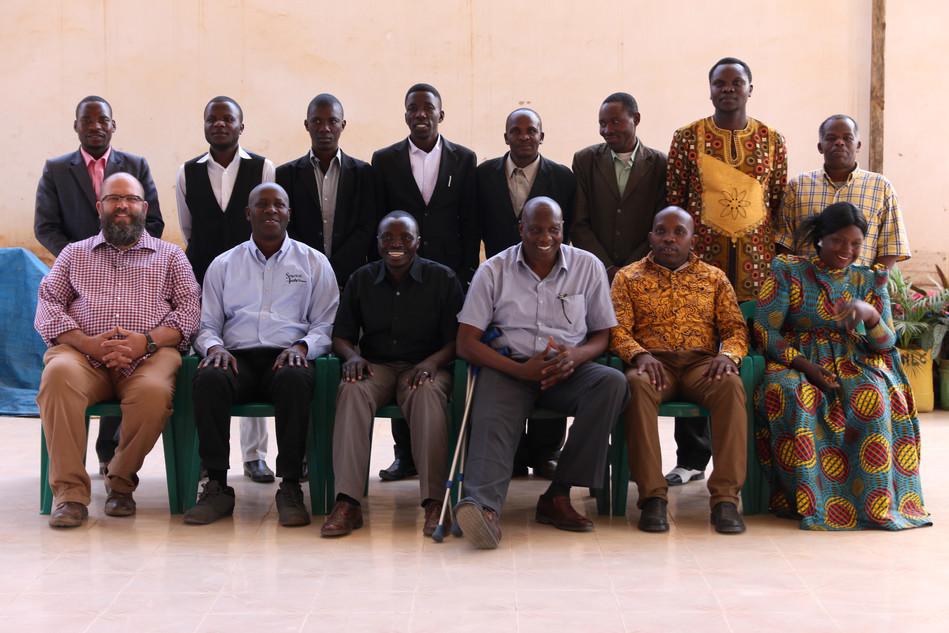 SI Leadership Team in Iringa