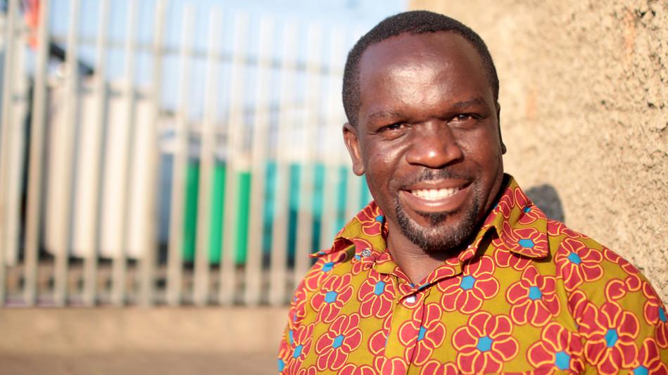 Pastor Njovu, Area Director for Kanyama