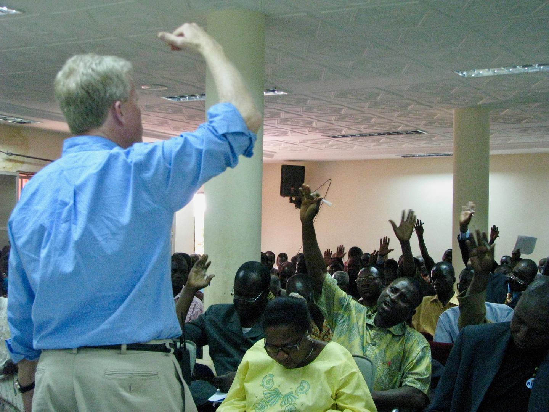 Teaching in Burkina Faso