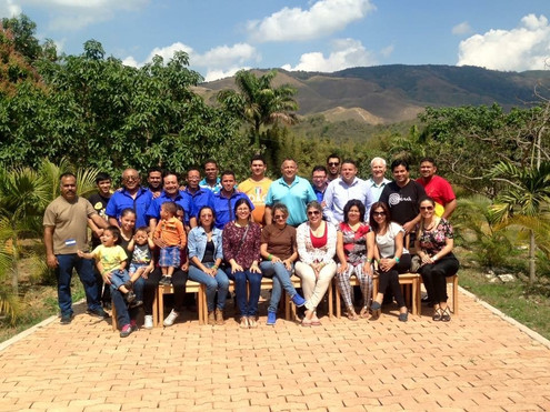 With the team in Barquisimeto, Venezuela
