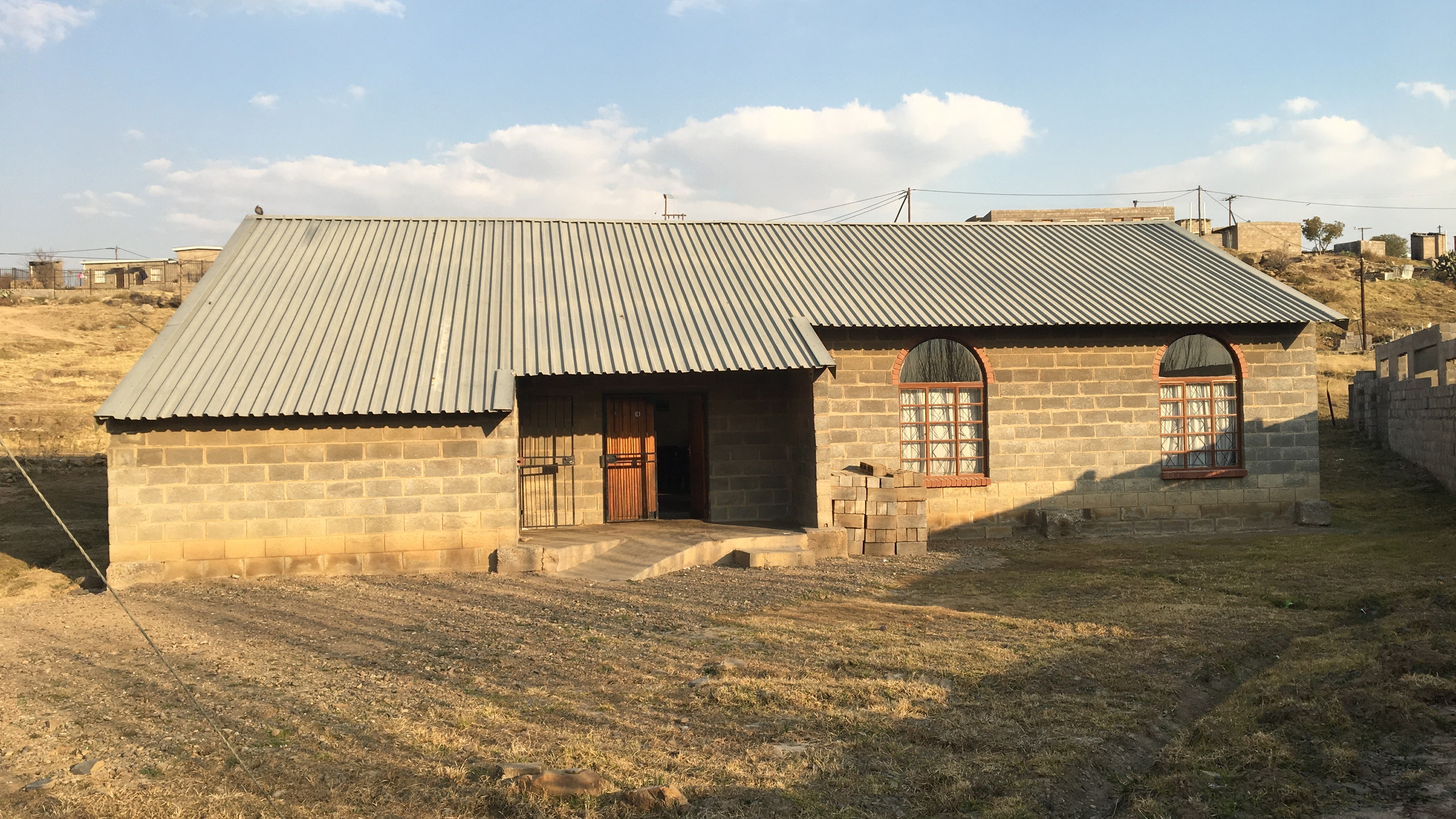 The church who hosted our Leadership Thrust in Thetsane, Lesotho.