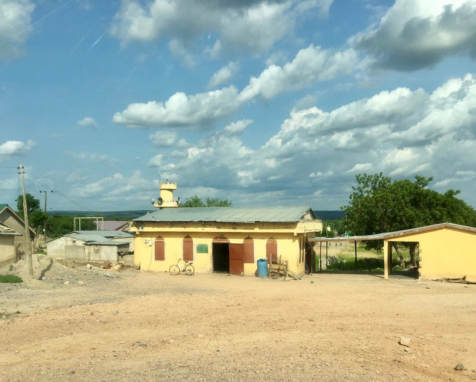 Also - many much mosques here. — in Ghana.