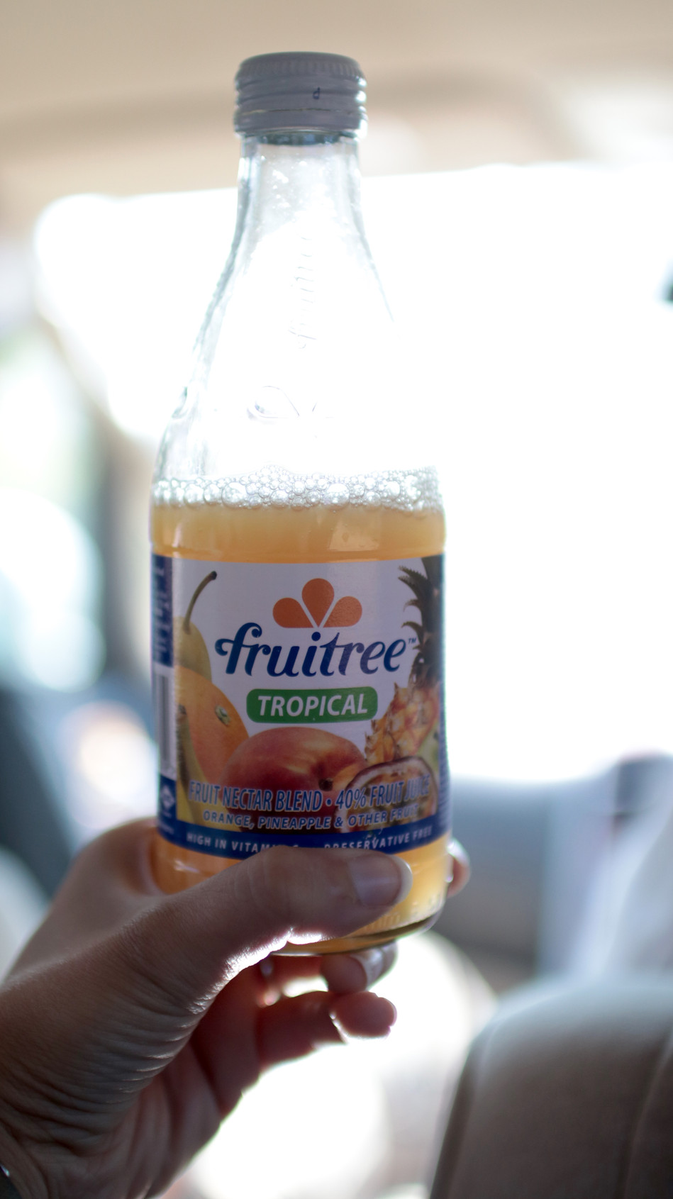 Fruitree - The fruit juice of choice for Josh on the journey!
