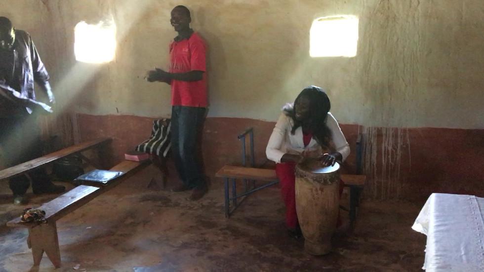 A taste of rural worship in Mkushi