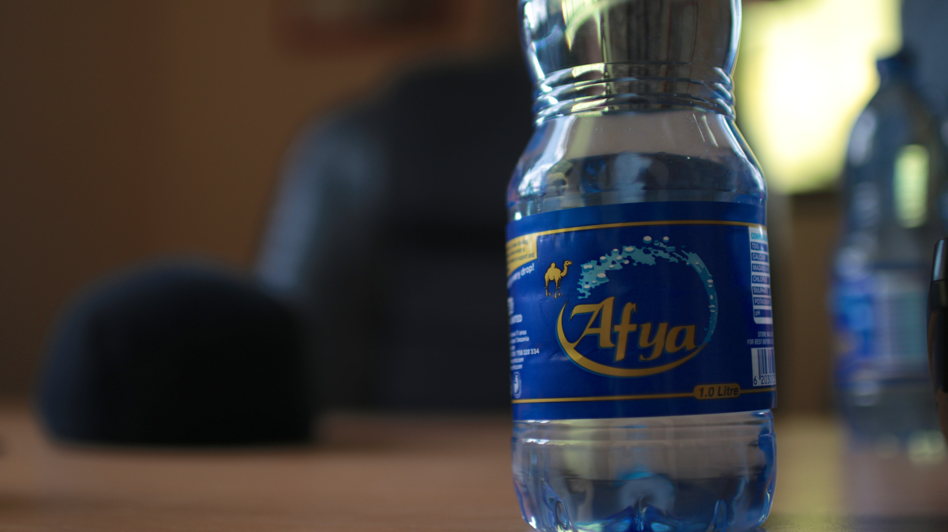 A water bottle from Dar