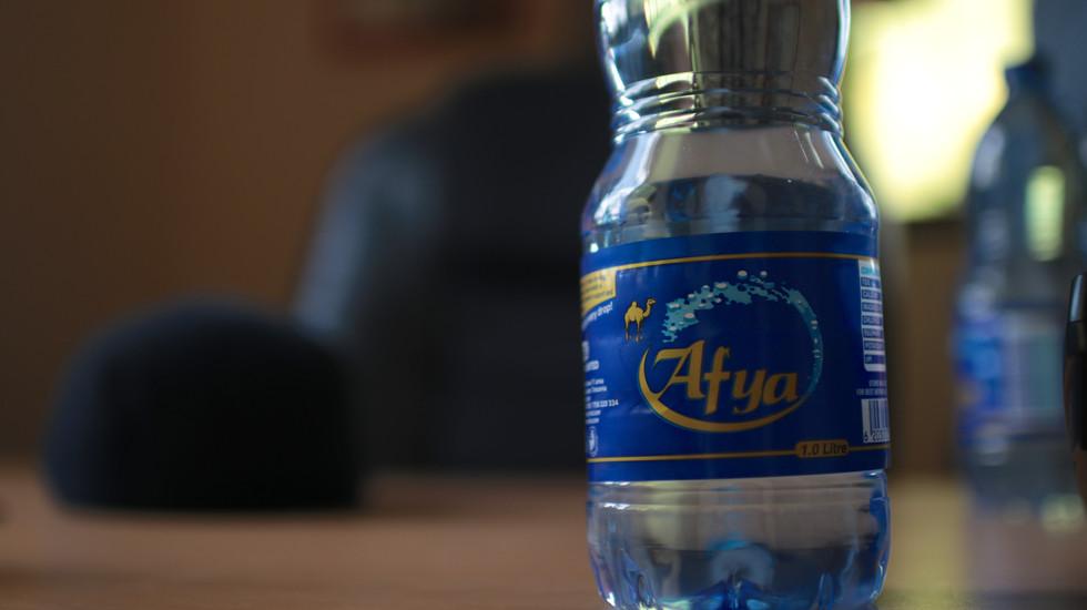 A water bottle from Dar