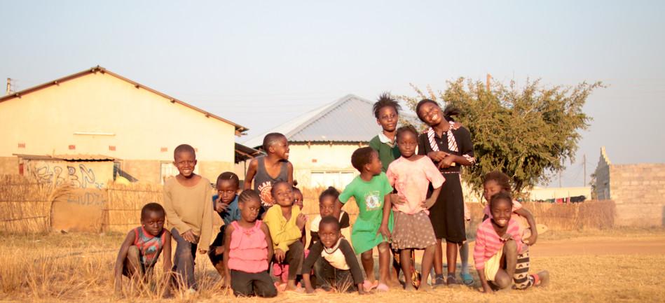 Group Photo in Bauleni
