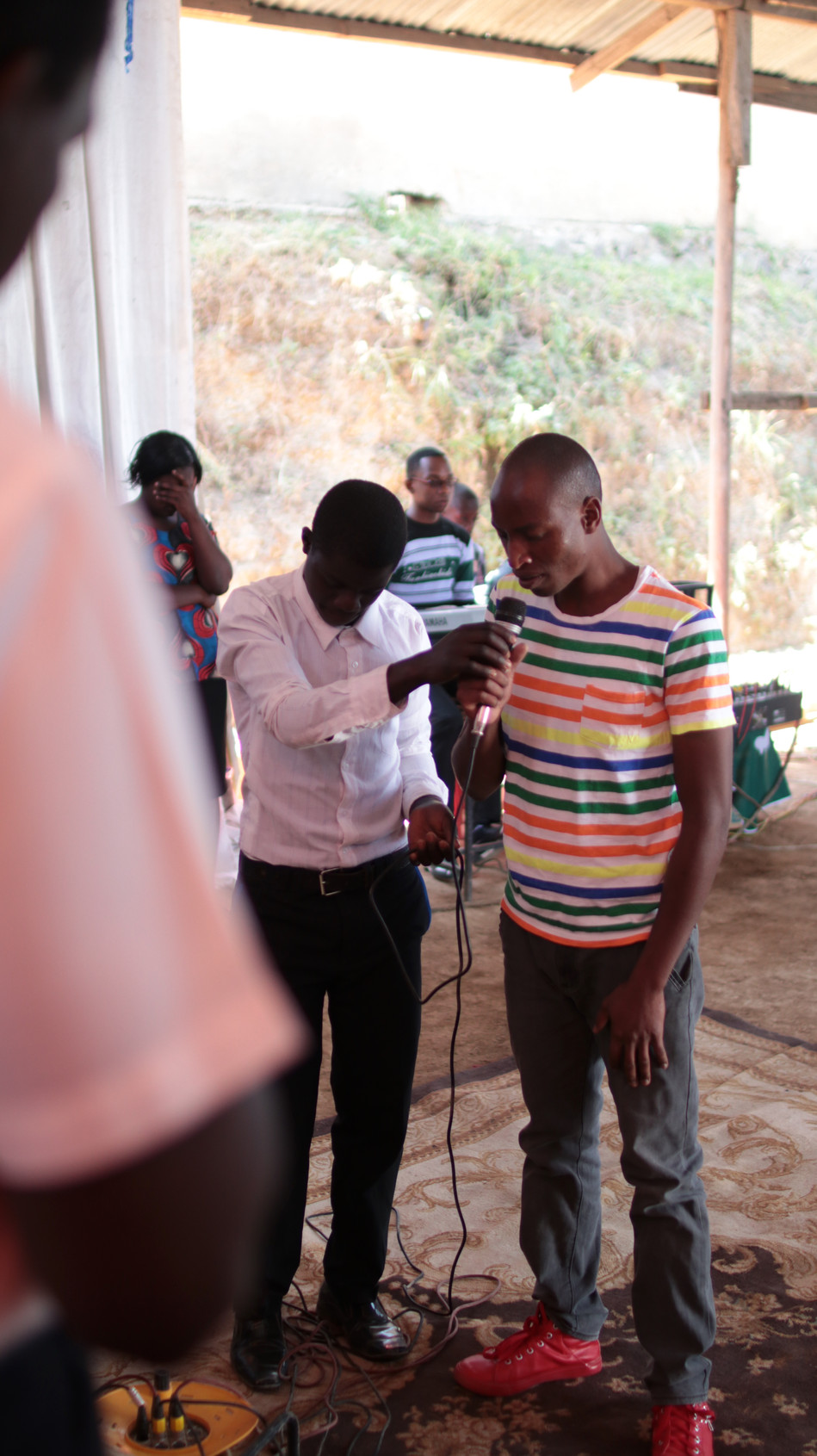 This man came to faith in Christ that morning and joined the church