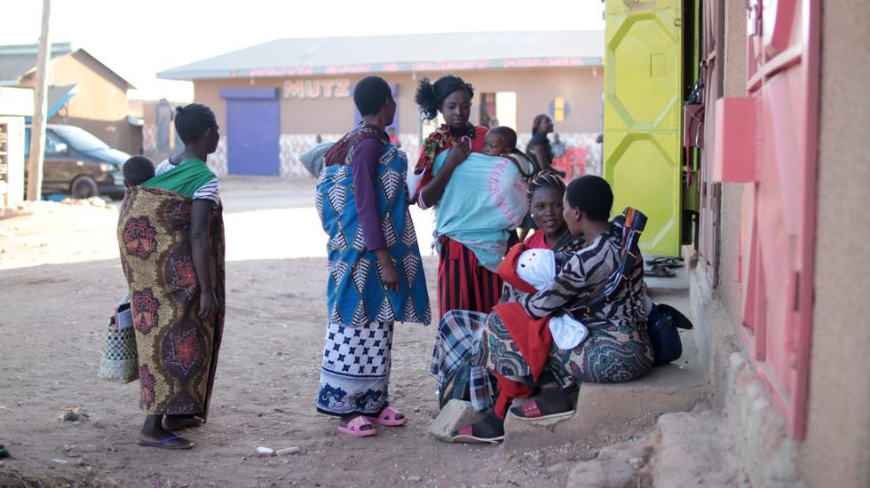 Street scene in Tunduma