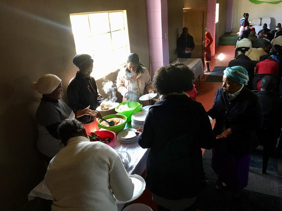 Lunch! — in Maseru, Lesotho.