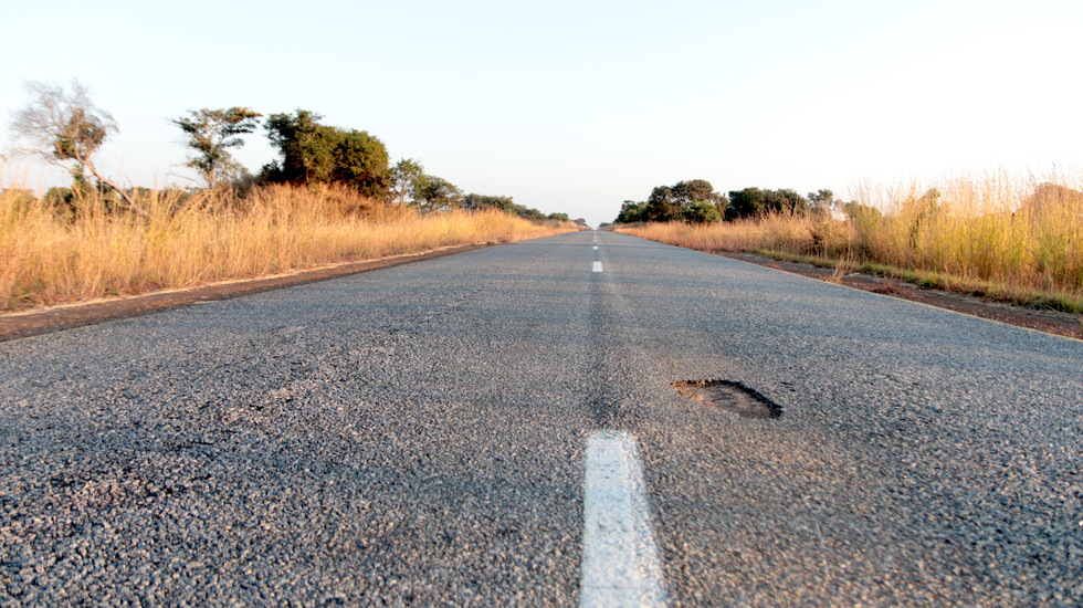 This is NOT the pothole.