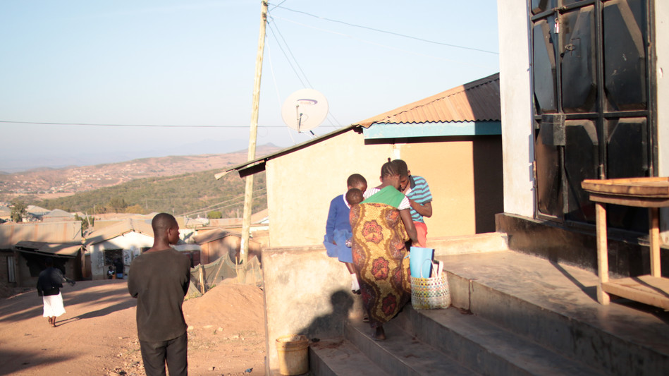 Out in the community of Tunduma