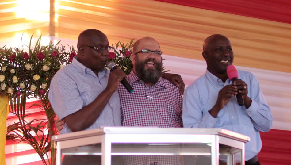 Azikiwe, Wandamba, and I in Iringa