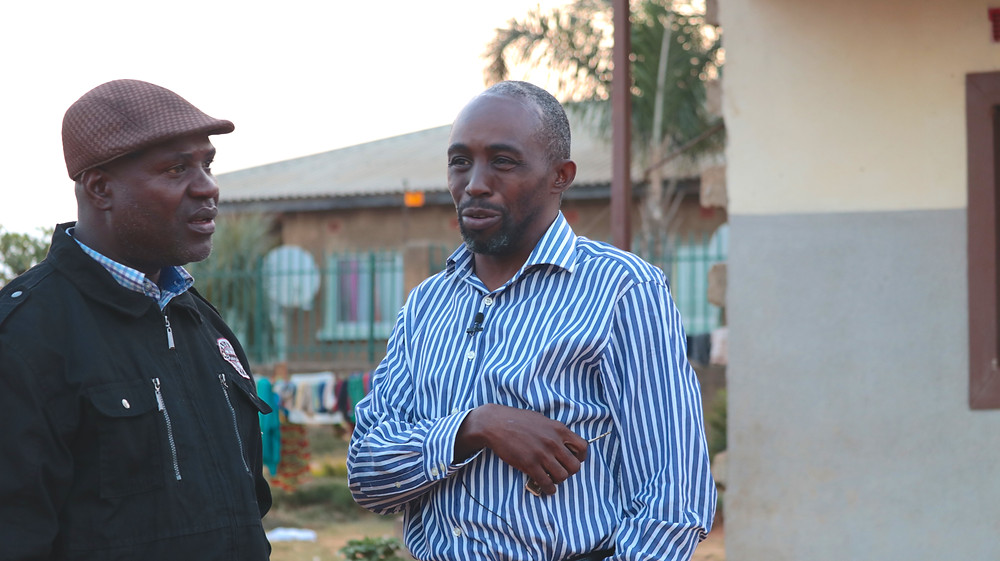 Sainet & Dennis in Lusaka, Zambia