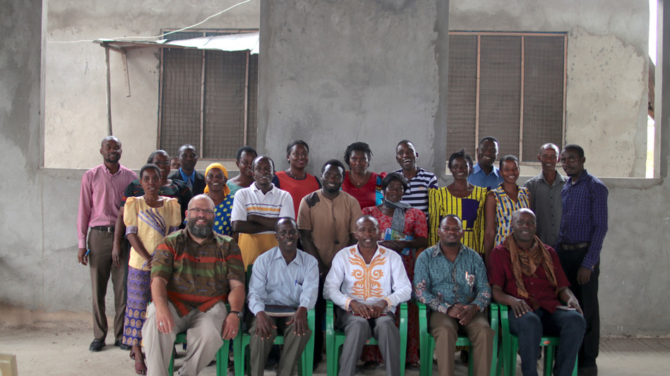 A portion of the SI family in Tandika. (part of Dar es Salaam)