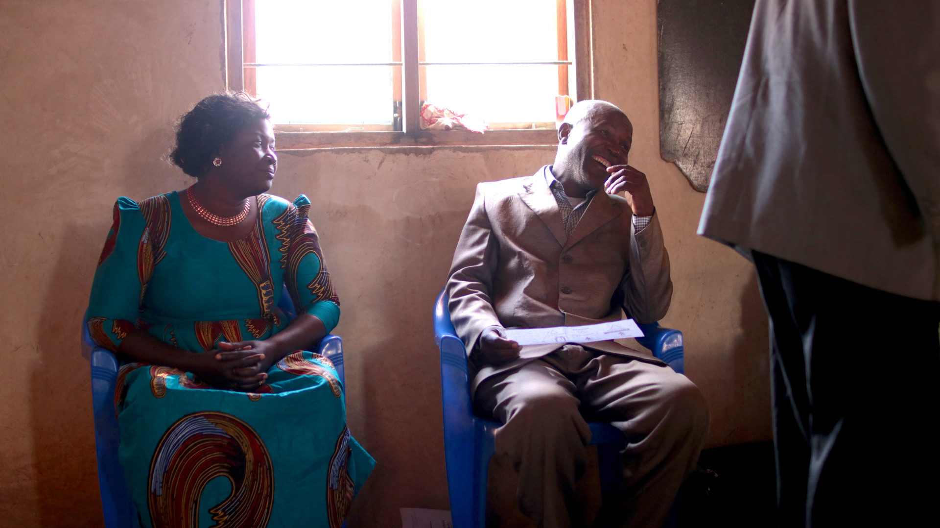 Our Host pastor (right) in Mafinga and one of the Iringa leadership team members