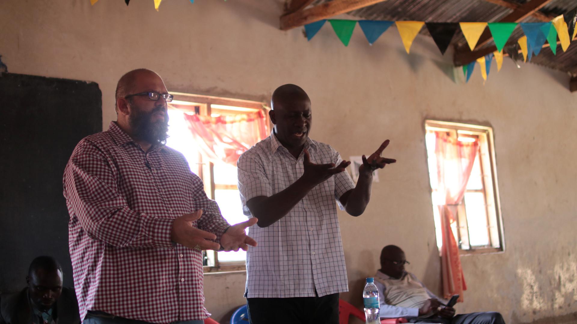 Teaching in Mafinga