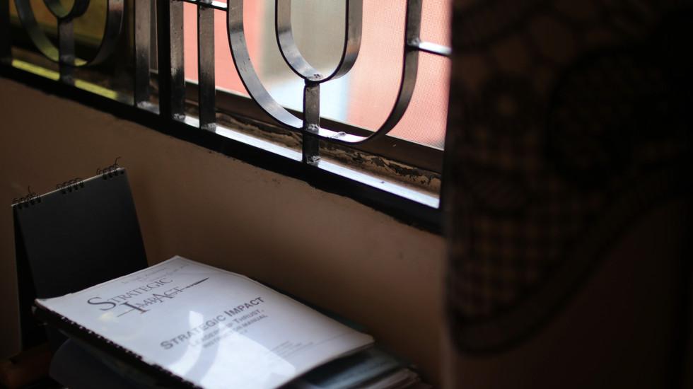 """Experienced"" SI Materials in Wandamba's office"