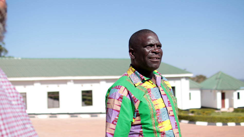 Francis Kaluba Ngosa - our Area Director for the Northern Province of Zambia.