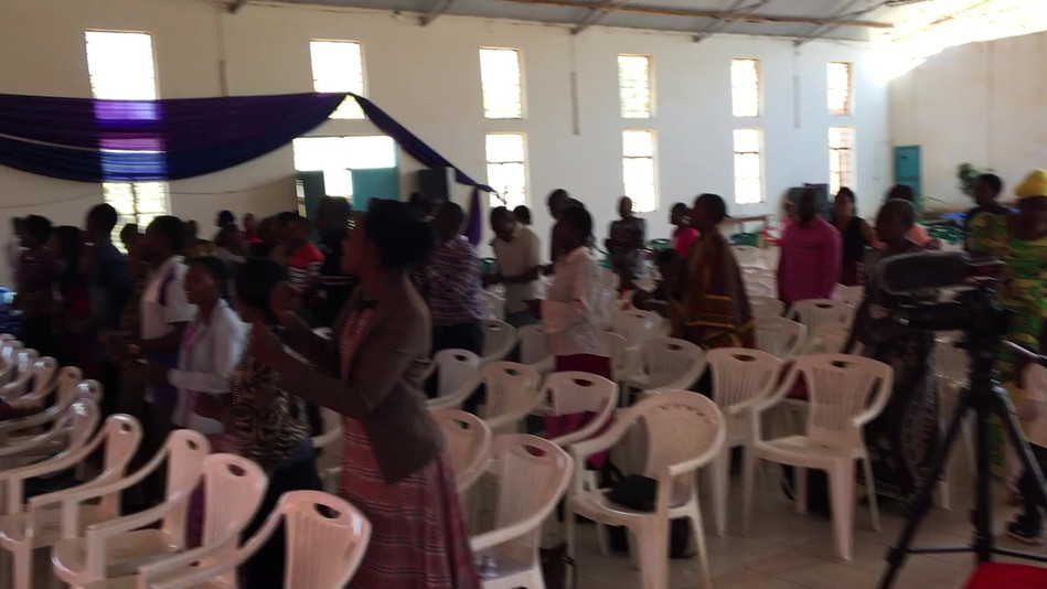 Worship with the Pastors and Leaders of Iringa