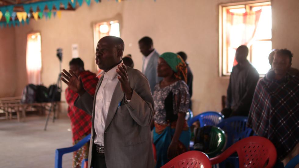 Worshipping in Mafinga