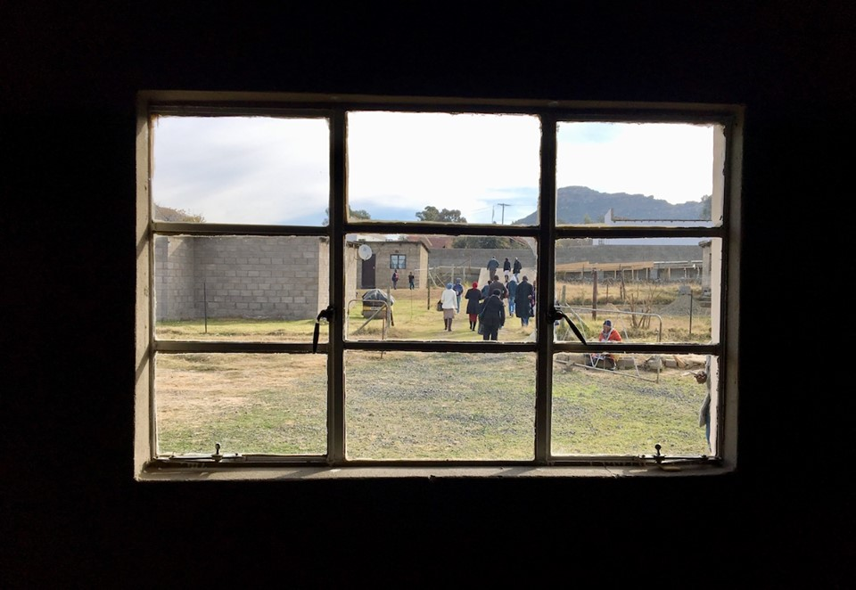 Teams headed out into the community, carrying the hope of the gospel and the love of Christ. — in Maseru, Lesotho.