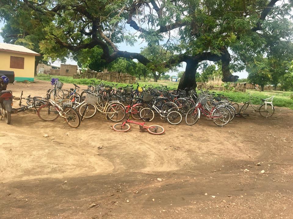 School parking lot. — in Navrongo.