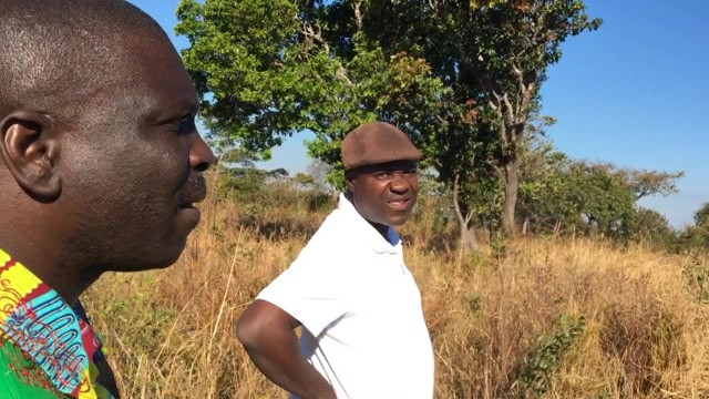 Looking over the potential land purchase for the BAM project