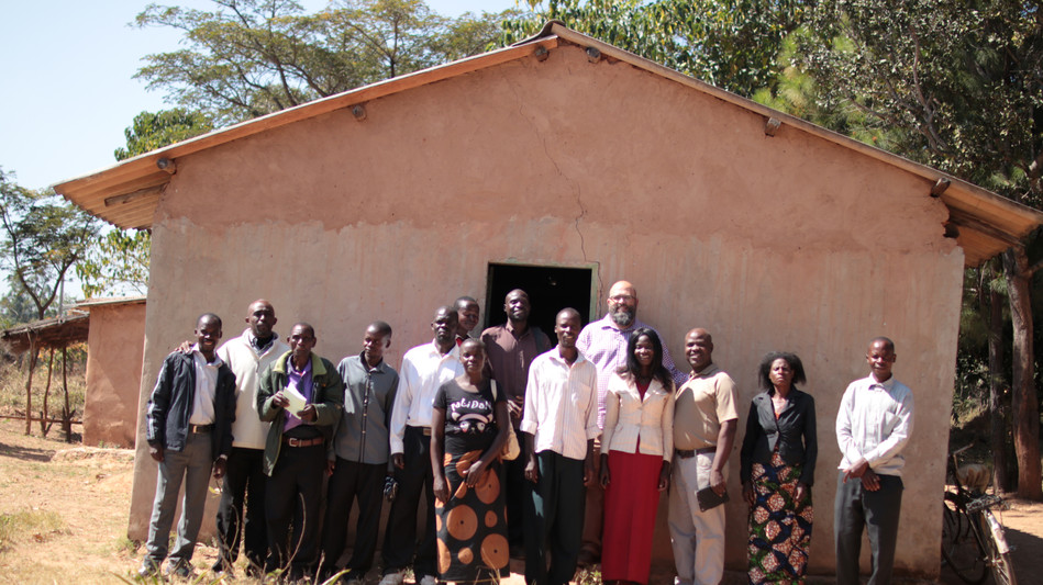 The team of Pastors and Leaders from the Mkushi area
