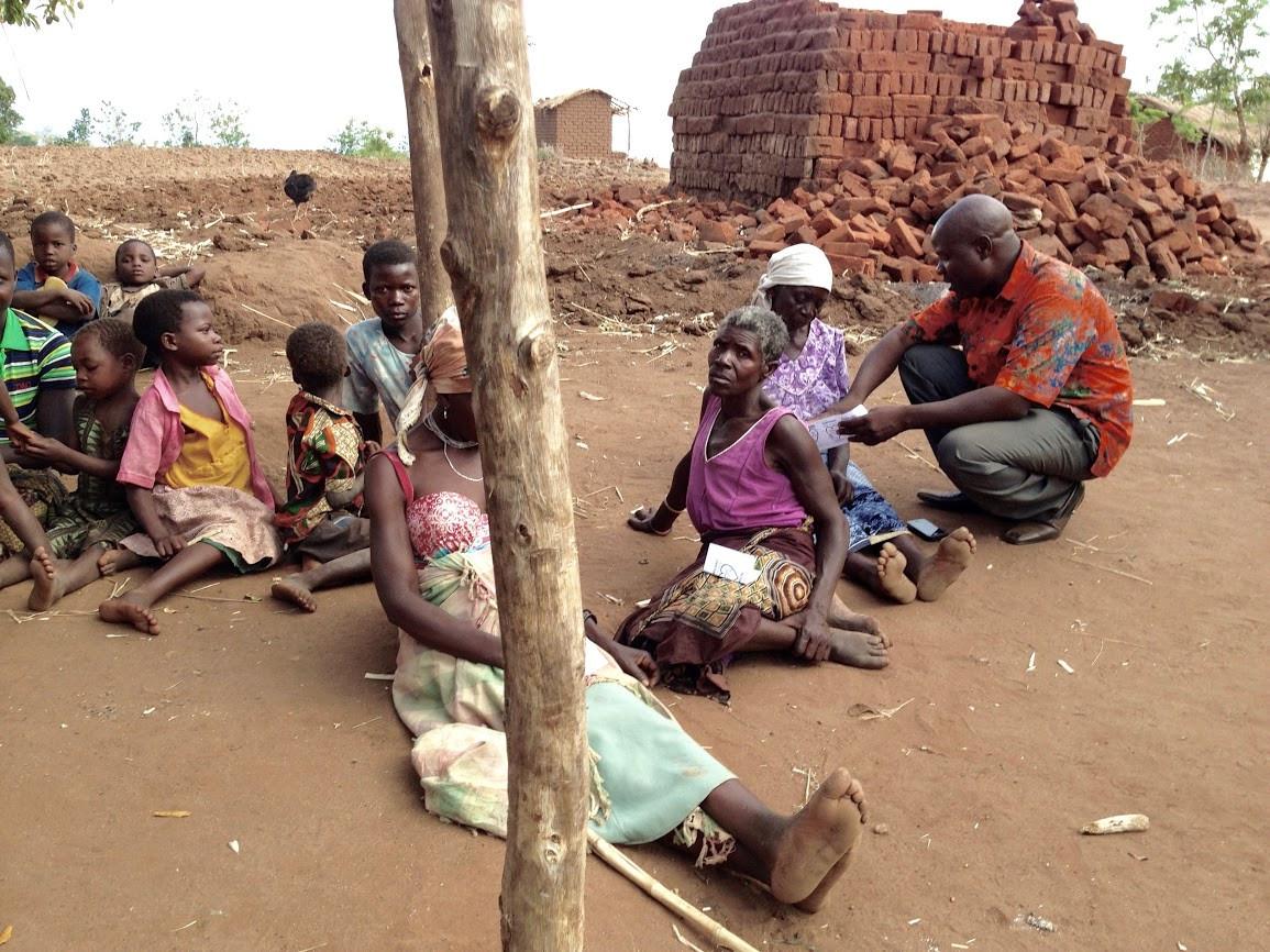 Outreach in rural Malawi