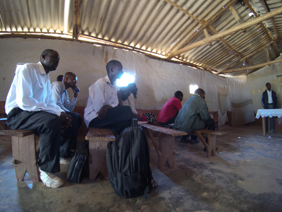 Listening while Pastors and Leaders shared the victories and challenges they were facing to move forward with SI