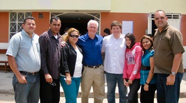 With the team in Venezuela