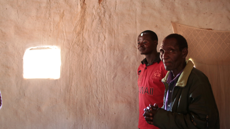 Our host Pastor (on right) and one of the Pastors he has trained through SI.