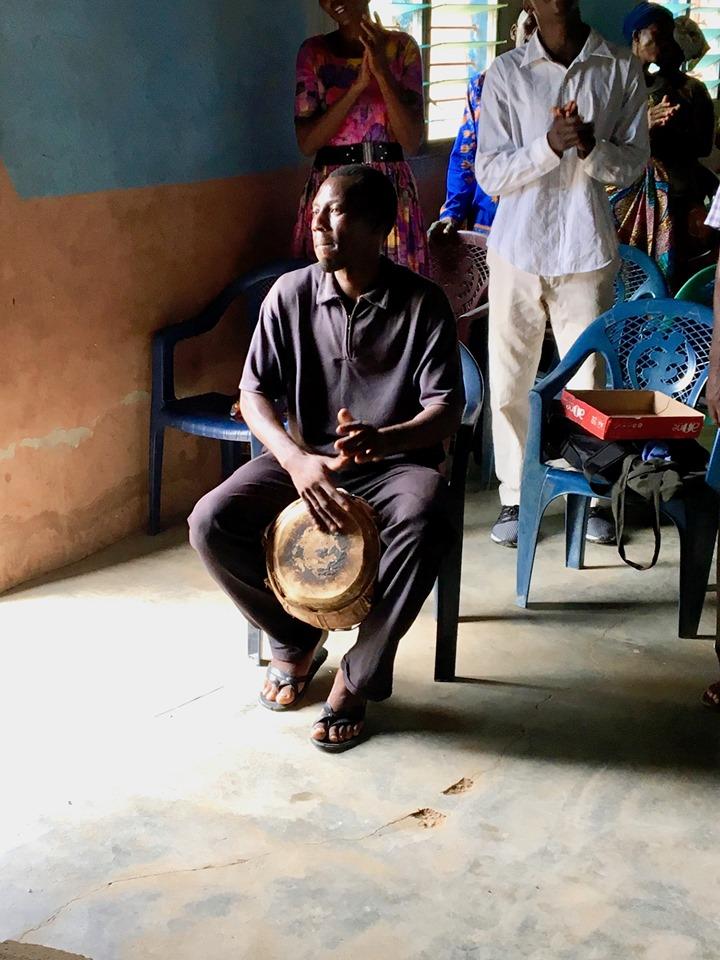 Drop the beat! — in Chiana Asunia, Upper East, Ghana.