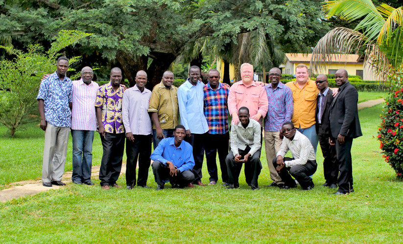 Stephen with West Africa Leaders