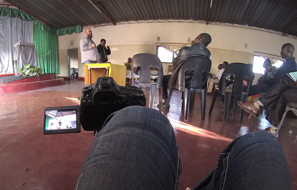 Teaching and encouraging the Pastors and Leaders