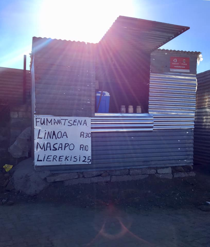 """My friend's new """"shack"""" where they have started a small business with many hopes of growth!"""