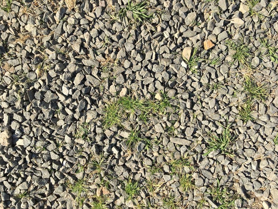 Gravel/Grass texture — in Maseru, Lesotho.